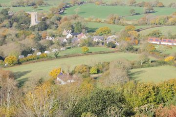 Marshwood Vale from Hardown Hill