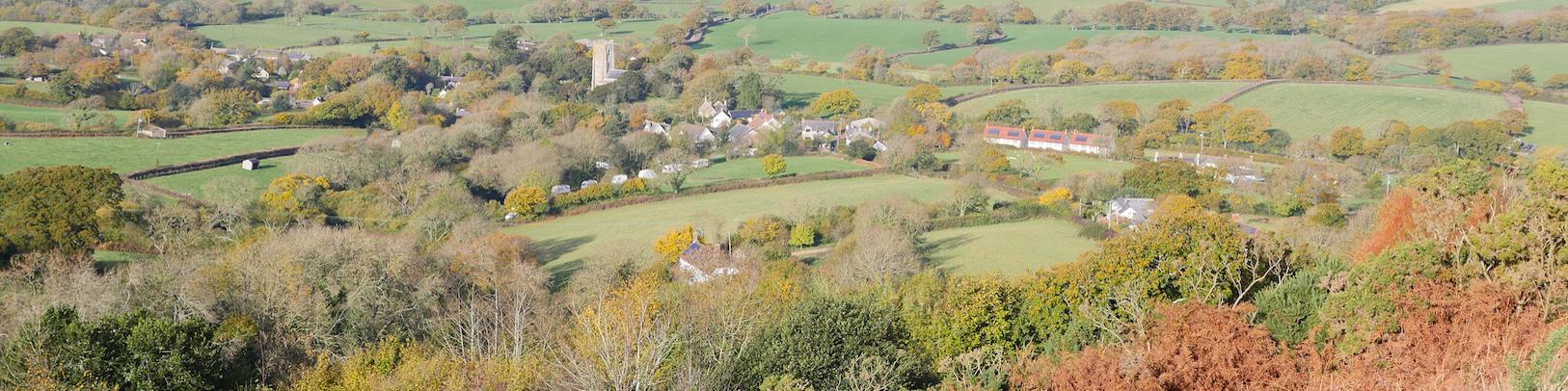Marshwood Vale from Hardown Hill