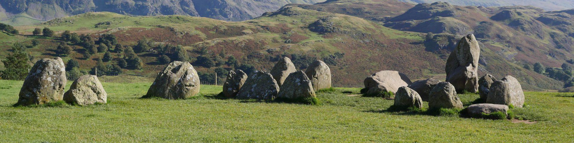 Castlerigg stone circle Lake District