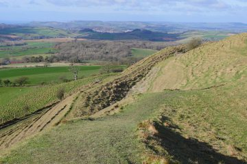 Eggardon Hill Dorset walks