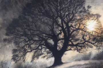 Age of fire Donhead Oak by Gary Cook