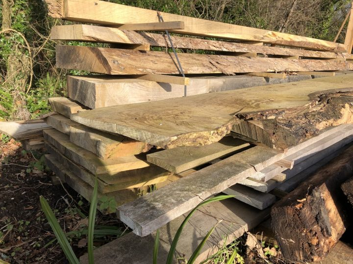 Sawmill provides shelter from the storm
